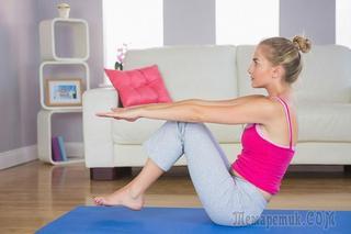 Секреты домашнего фитнеса: программа упражнений для девушек
