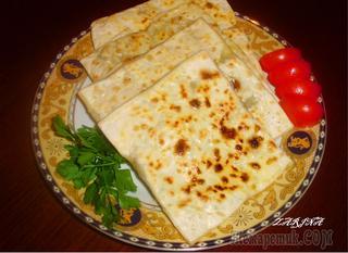 Гзлеме-Ттурецкие лепешки с начинкой (любимые рецепты турецкой кухни)!!!!
