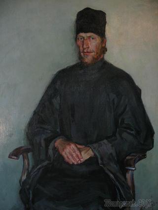 Лица современников. (1993-1997 г.г.) художник Пузанова О.В.