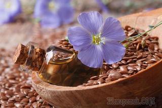 Льняное семя для красоты и здоровья
