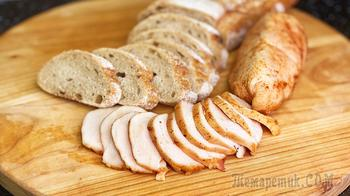 Лучше любой колбасы! Сочная куриная пастрома в духовке, очень нежная и вкусная