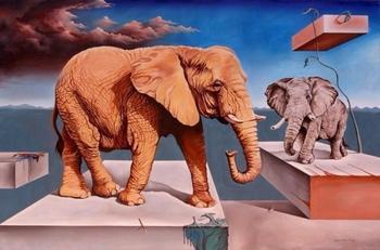 Сюрреалистическая эстетика на полотнах мексиканского последователя Дали