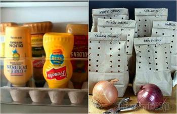 19 маленьких секретов правильного хранения продуктов