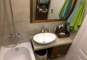 Ну очень компактная ванная комната