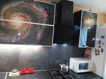 Кухня: космос на 7,3 квадратных метра