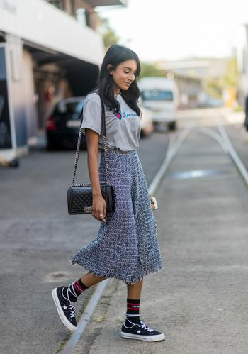 Страсти по миди: как правильно носить юбки самой модной длины?