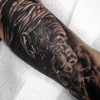 Невероятно реалистичные татуировки от Мэтта Джордана