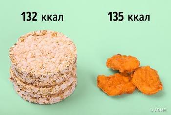 14 сравнений еды, благодаря которым вы забудете о диетах