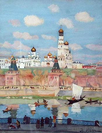 Русь звенящая в живописи Константина Федоровича Юона
