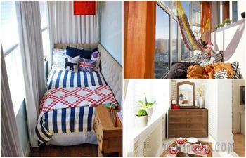 15 идей для лоджии, которые сделают ее самой уютной комнатой в доме