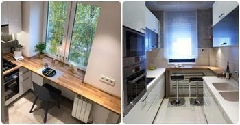 Интересные решения для 6 м², которые помогут грамотно обустроить малогабаритную кухню