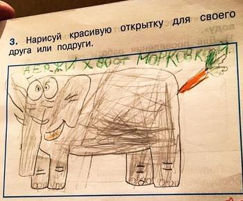 14 детских работ, при взгляде на которые не знаешь, стоять или падать
