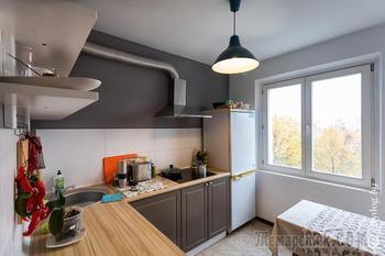 4-комнатная квартира, где в одной половине живет кот, а в другой – настоящая студия