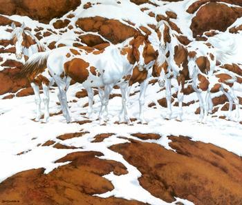 Сколько лошадей вы видите на этом изображении?