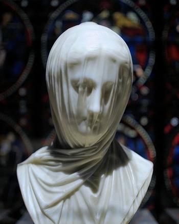 Ткани рукой скульптура. Чонси Бредли Айвз