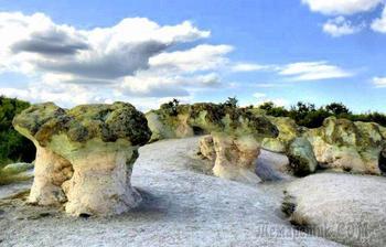 Осенняя экскурсия в Болгарии. 1. Каменные грибы