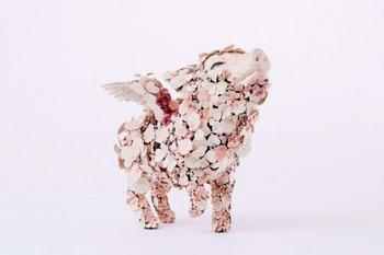 Цветущие скульптуры животных от Тайитиро Ёсиды