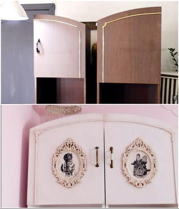 Модный шебби-шик, или Как превратить старый советский шкаф в стильный предмет интерьера