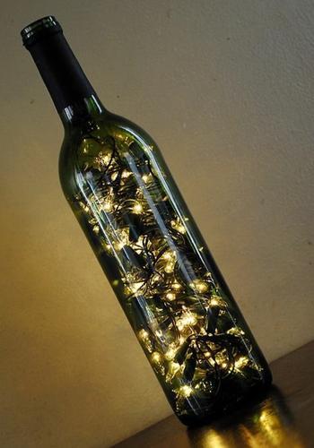 Как сделать лампу из бутылки своими руками