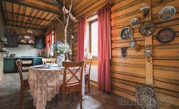 Гостевой домик с неповторимым деревенским колоритом