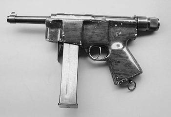 Пистолет-пулемёт HAFDASA C-2 (Аргентина)
