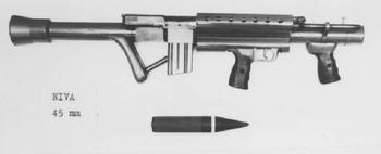 Автоматно-гранатомётный комплекс NIVA XM1970 (Швеция)