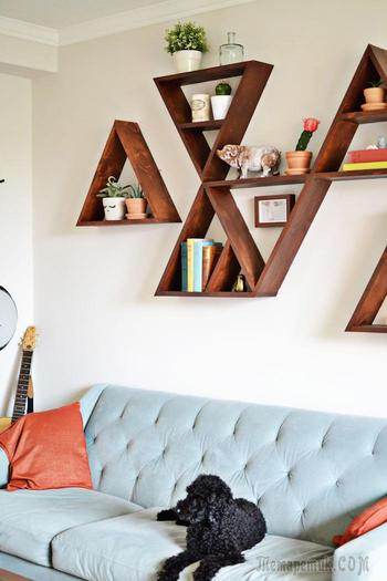 Уникальные стеллажи и полочки для книг, которые пробуждают тягу сделать их самостоятельно