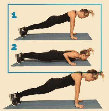 12 упражнений, чтобы быстро привести себя в форму