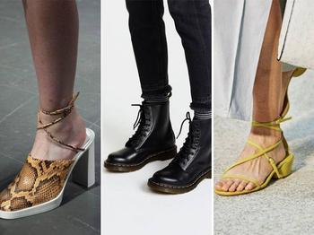 Стильная обувь 2020