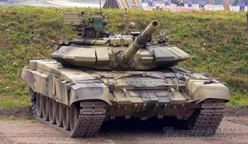 Танк Т-90 снаружи и внутри