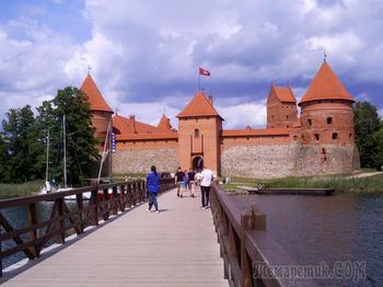 Литва – возрождение старинного государства. Часть 2. Тракай – город озёр, караимов и средневековых замков