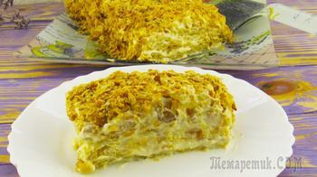 Быстрый тортик из 3-х ингредиентов всего за 1 час без раскатки коржей!