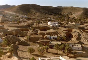 Матмата: берберский город из тысячи пещер