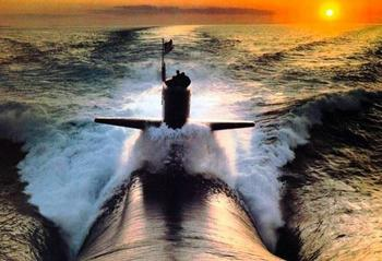 Внутри подводной лодки