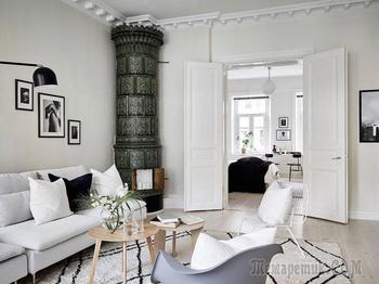 Скандинавская квартира, в которой живется легко (80 кв. м)