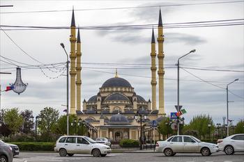 Сердце Чечни. Мечеть в Грозном