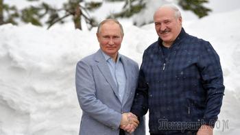 Переговоры завершились лыжами: что обсуждали Путин и Лукашенко