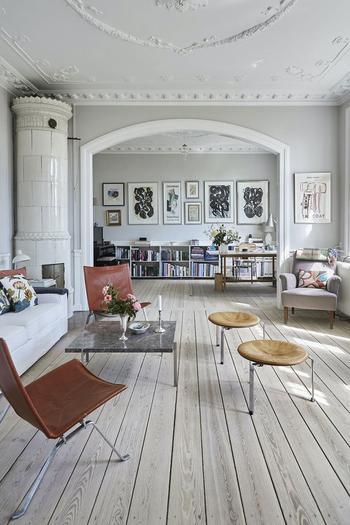 Великолепный загородный дом дизайнера в Дании