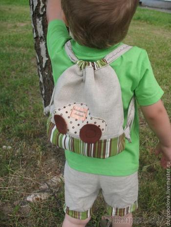 Как сшить детский рюкзак