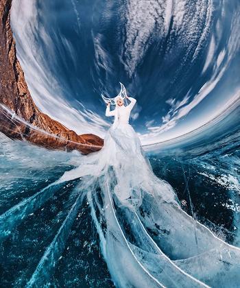 Фотографии Байкала, на которых самое древнее и глубокое озеро на Земле выглядит как фантастический мир