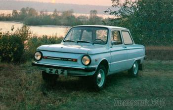 Колёса от Жигулей, отсутствующие уши и мощный двигатель: мифы и факты про ЗАЗ- 968М