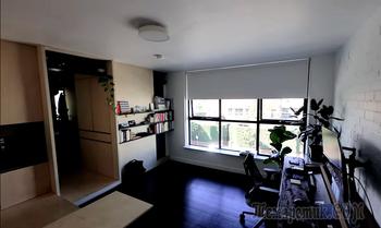 Как молодой архитектор превратил убогую развалюху 28 кв. м. в стильную студию