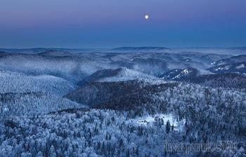 Сибирь: на таёжных просторах Красноярского края.