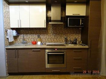Кухня: ремонт, сделанный за месяц