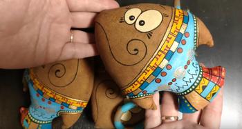 Ароматизированные игрушки для декора дома