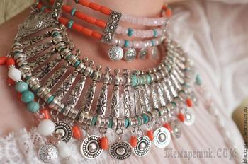 Создаём монисто-ожерелье а-ля рус