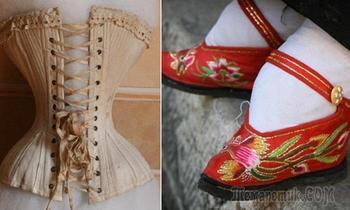 Предметы гардероба прошлого, которые могли запросто покалечить любую модницу