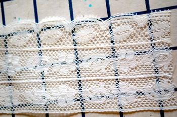 Как сшивать кружево в единое полотно