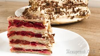 Торт из лаваша без выпечки - изумительно вкусный и легкий рецепт