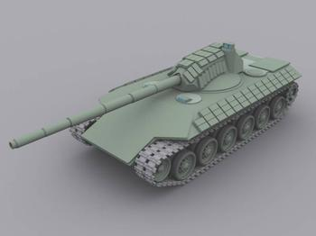 Советская «Армата» из 1970-х, проект танка Т-74